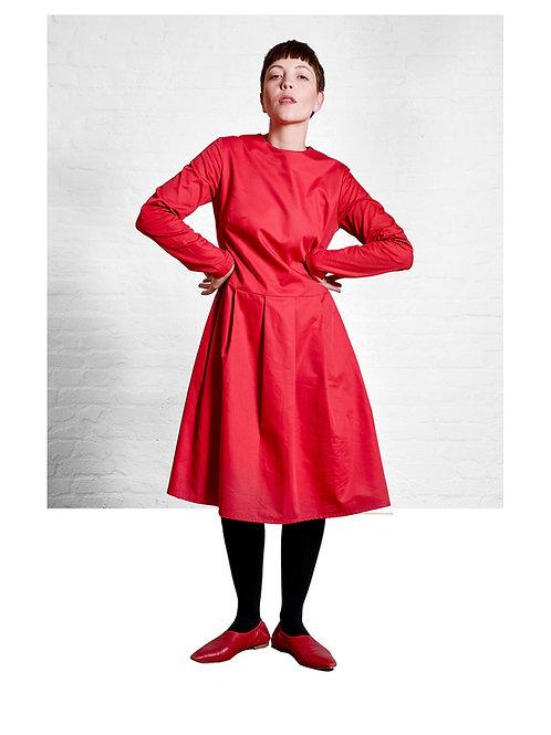 Eve dress, red