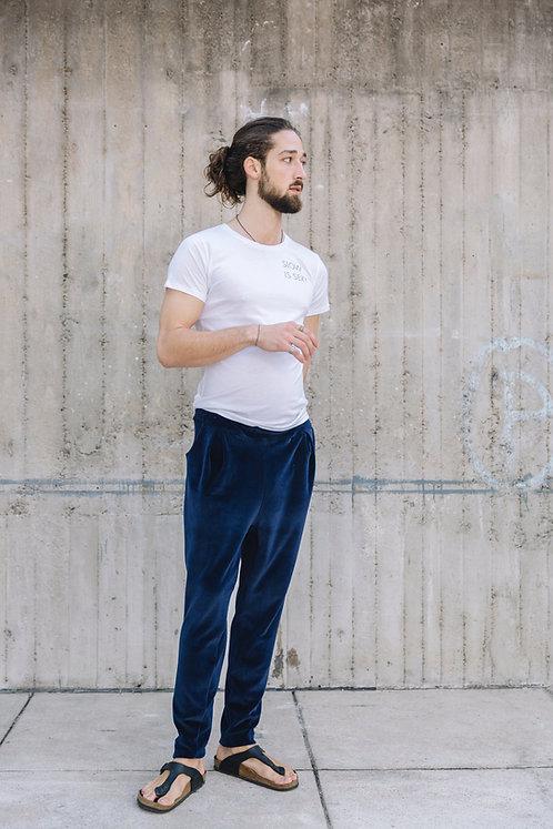 Pants Florian, Velvet Blue