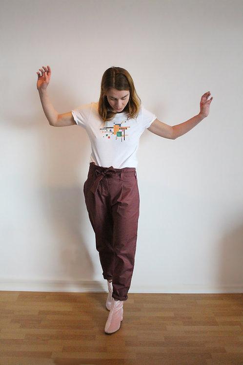 White Bauhaus BoyGirl Shirt
