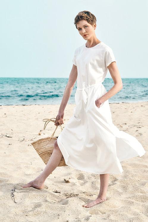 Dress Nina, White