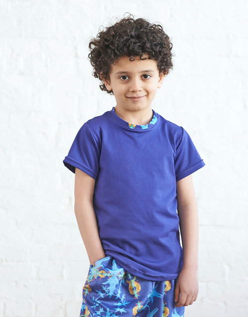 Kids Unisex T-Shirt, Blau