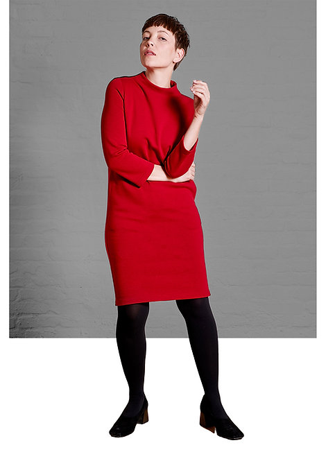 Dress Gretchen, Red