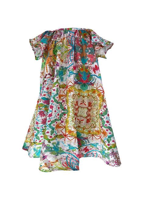 Wing dress, kaleido