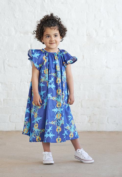 Flügel Kleid