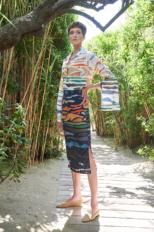 Skirt Amelie, Mare e Monti Blue