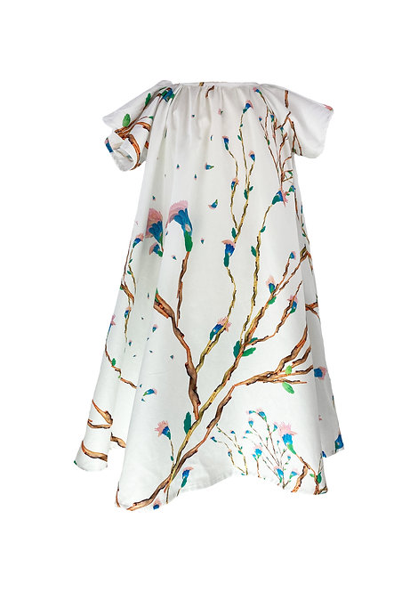 Flügel Kleid, Hanami