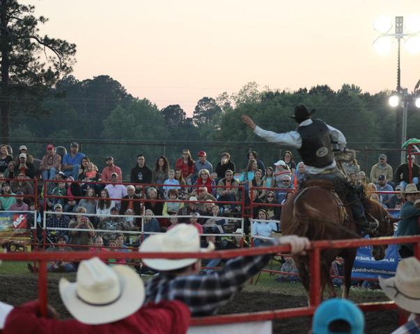Saddle Bronc Riding 2018 Statesboro Kiwanis Rodeo
