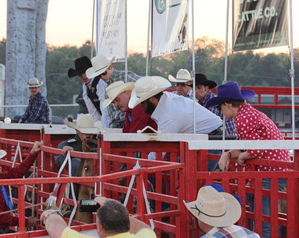 Cowboys at 2018 Statesboro Kiwanis Rodeo