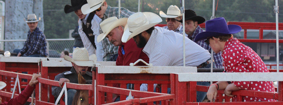Cowboys at 2018 Statesboro Kiwanis Rodeo