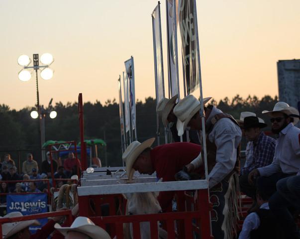 2018 Statesboro Kiwanis Rodeo Cowboys