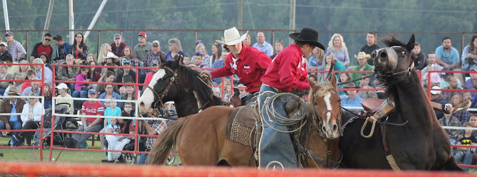 Pickup Men at  2018 Statesboro Kiwanis Rodeo