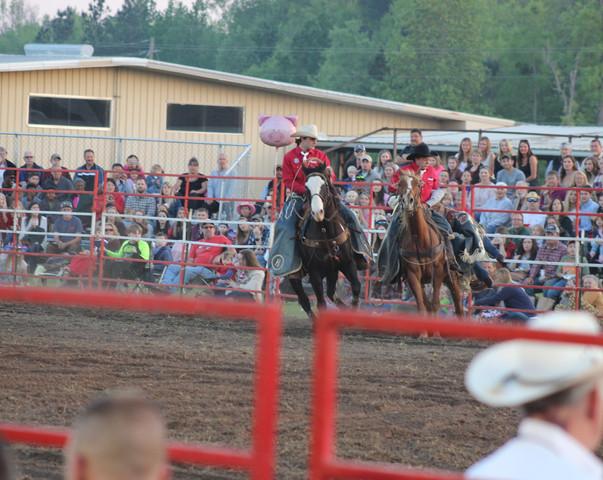 Pickup Men at 2018 Statesboro Kiwanis Rodeo