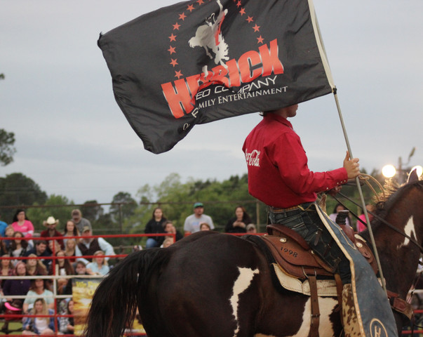 Hedrick Rodeo Grand Entry