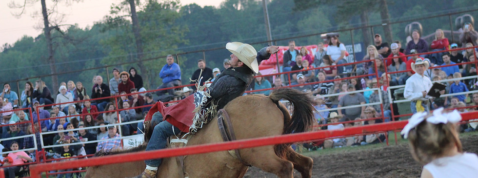 Bronc Riding 2018 Statesboro Kiwanis Rodeo