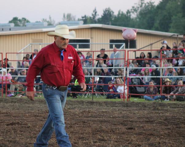 Danny Hedrick at the 2018 Statesboro Kiwanis Rodeo