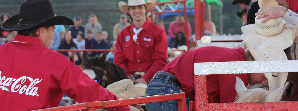 Justin Hedrick of Hedrick Rodeo
