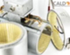 Rezistente electrice band ceramic