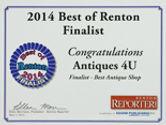 Best of Renton Finalist Badge