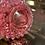 Thumbnail: Fenton Cranberry Opalescent Hobnail Cruet