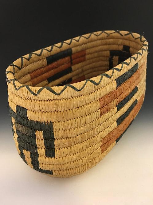 Tohono O'Odham (Papago) Coiled Basket