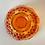 Thumbnail: Fenton Orange Hobnail Fairy Light