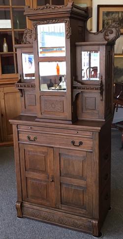 Oak Dental Cabinet