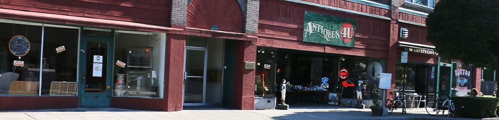 Antiques 4U Store Front