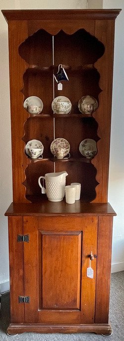 Tall Narrow Pine Cabinet