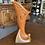 Roseville Pottery Silhouette Cornucopia Vase 721-8