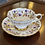 Golden Bramble Cup and Saucer by Royal Stafford