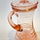 Thumbnail: Pink Depression Glass Pitcher with Lid