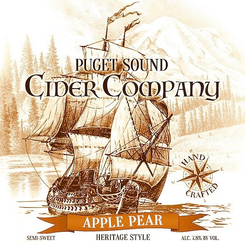 Apple Pear Heritage Cider 750ml