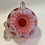Fenton Cranberry Coin Dot Cruet