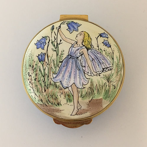 Crummles & Co. Flower Fairy Enamel Box