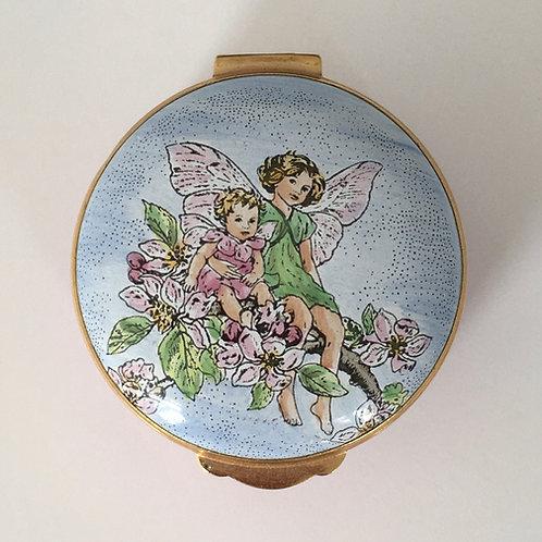 Crummles & Co. Flower Fairy Enamel Box