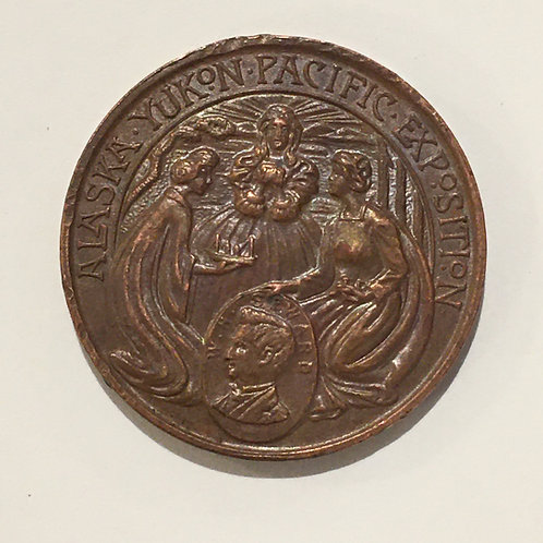 Alaska Yukon Pacific Exposition Token 1909