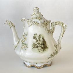1920's Eglantine Porcelain Teapot