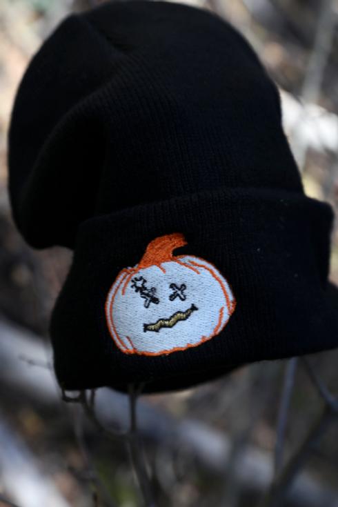 Black Pumpkin Beanie