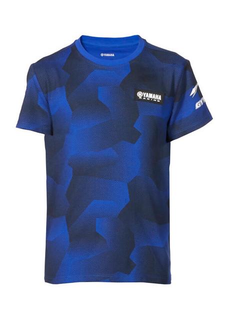 Paddock Blue Camo T-shirt voor kinderen