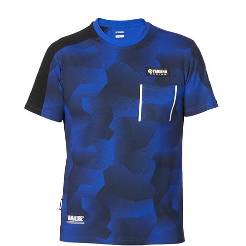 Paddock Blue Camo T-shirt voor heren