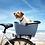 Thumbnail: Basil Buddy - hondenfietsmand - blauw