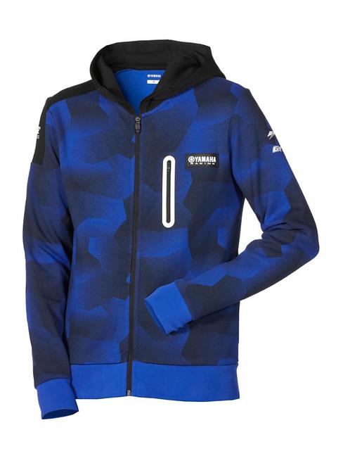 Paddock Blue Camo hoodie voor heren