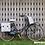Thumbnail: Basil Wanderlust Double Bag - dubbele fietstas - 35L - wit