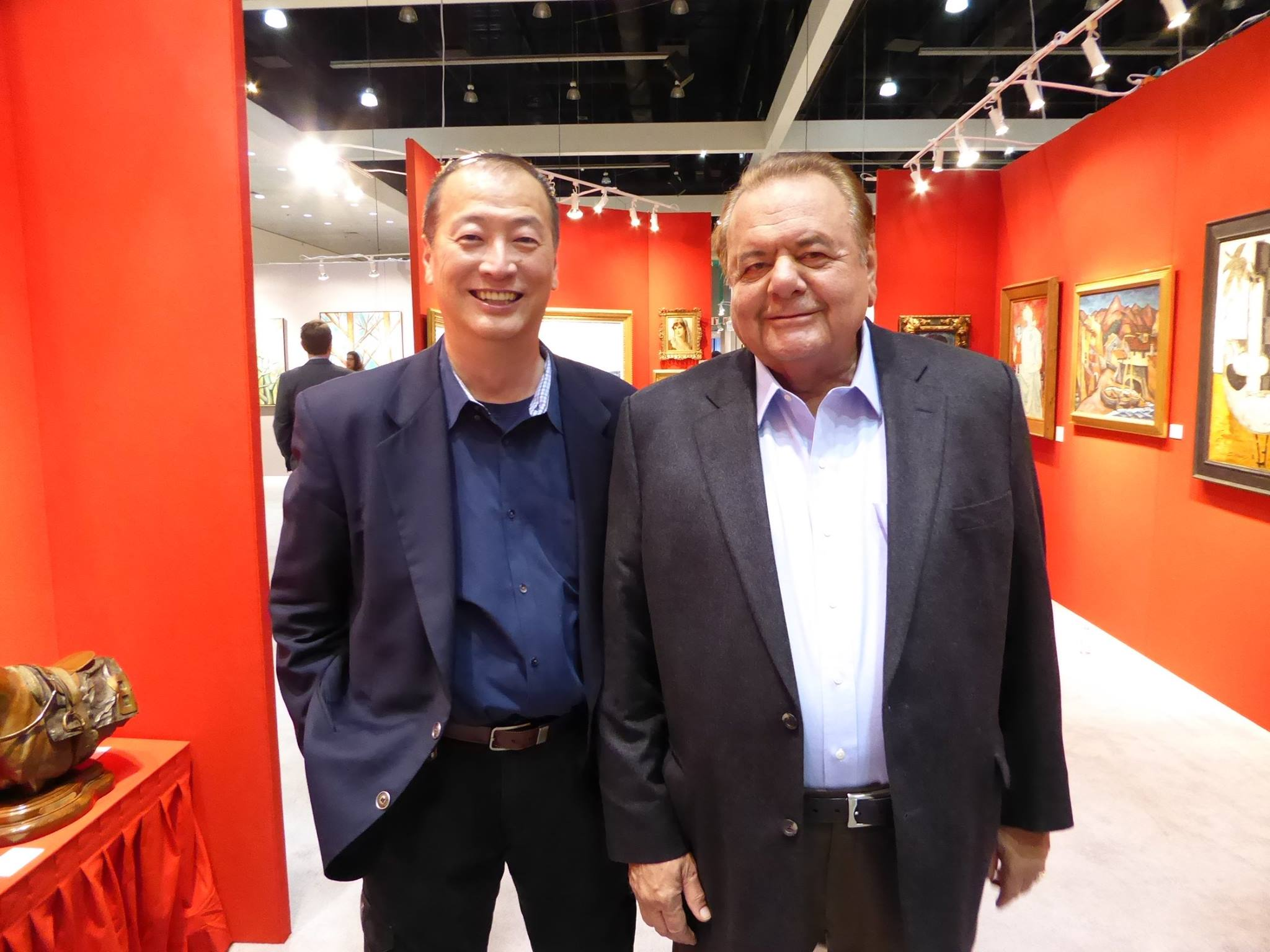 Ralph Liu with Paul Sorvino