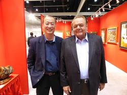 Ralph Liu with Paul Sorvino