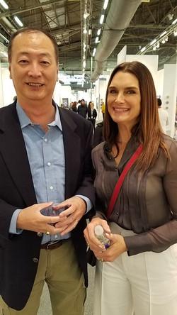 Ralph Liu with Brooke Shields