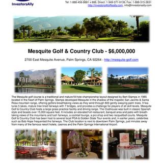 InvestorsAlly Realty Flyer_Mesquite Golf
