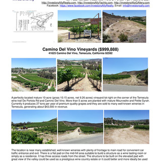 InvestorsAlly Realty_Camino Del Vino Vin