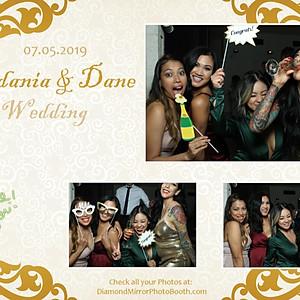 Jordania & Dane's Wedding