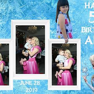 Amy's 5th Birthday - Frozen Theme